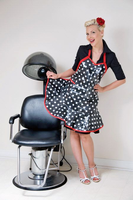 https://flic.kr/p/fyXWkL | Apron 18 | Take a seat and madam will attend to your hair - and something else if it's your lucky day!