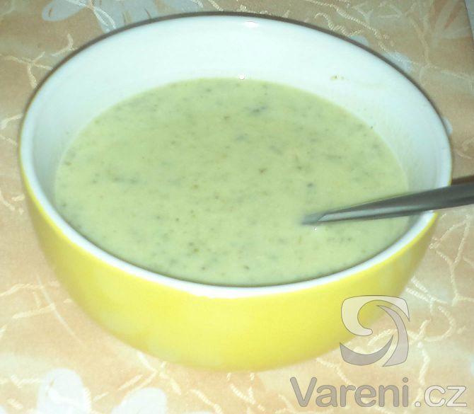 Recept na chutnou krémovou polévku z brokolice.