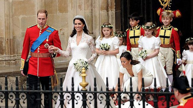prince william and kate royal wedding reception stars of the show