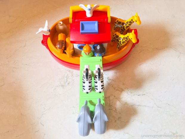 Arca de Noé de Playmobil 1 2 3  #unamamanovata #bebes #juguetes #playmobil ▲▲▲ www.unamamanovata.com ▲▲▲