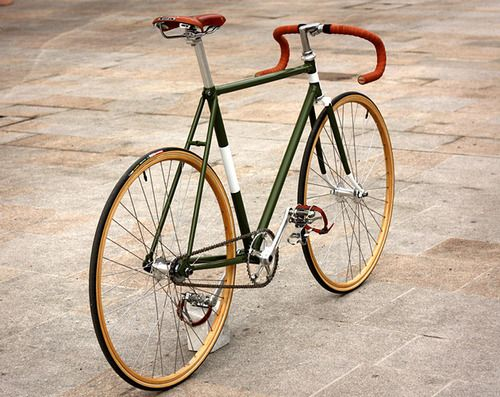 "vintage bicycles.  love them.  need new board for ""when we own a bike shop."""