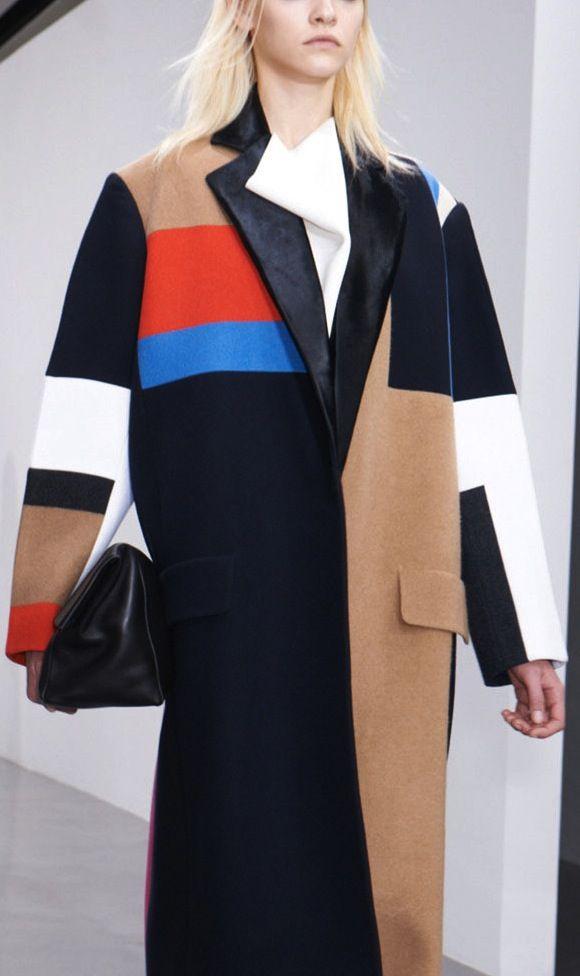 Fur Collar Crombie, Manteau Femme, Noir (Black 01), 34New Look
