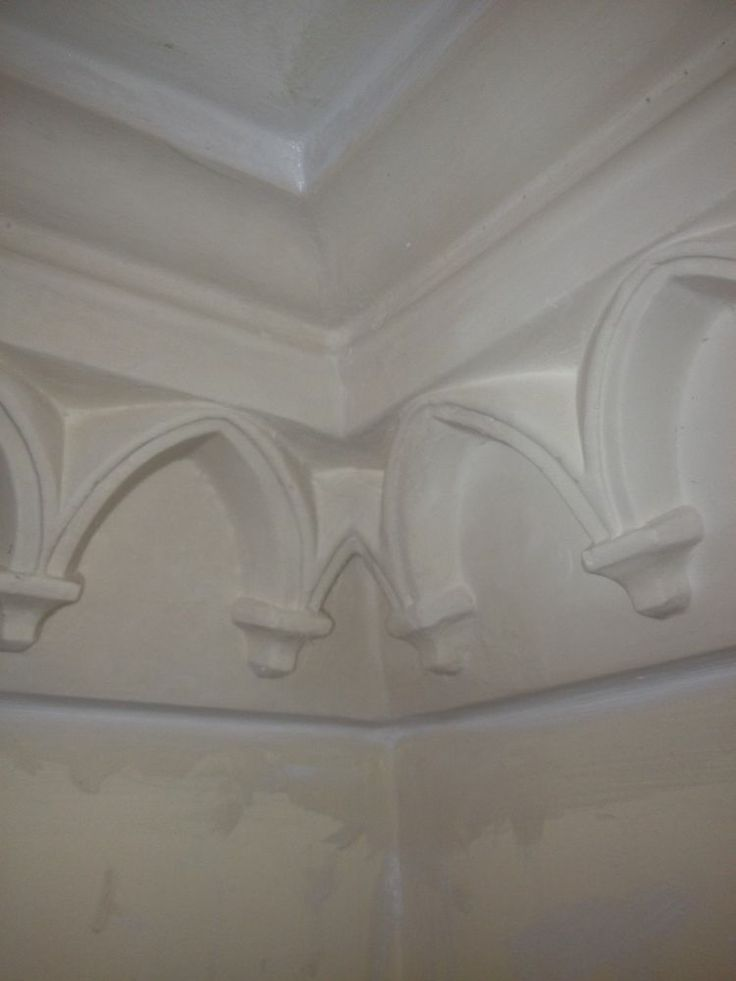 1000 images about white magic plaster of paris on for Ceiling cornice ideas