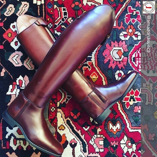 The Passage #dressageboots in rich #chestnutbrown.