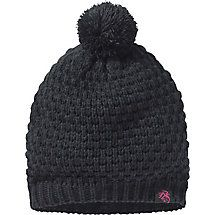 You can't get much cuter than this beanie!  This lovely ladies winter hat is knitted from 100% acrylic yarn, topped with an adorable pom pom, and features a faux suede Legendary® label with a pink Signature Buck.  Wear it as a warm winter hat or as a fashion piece - or both!