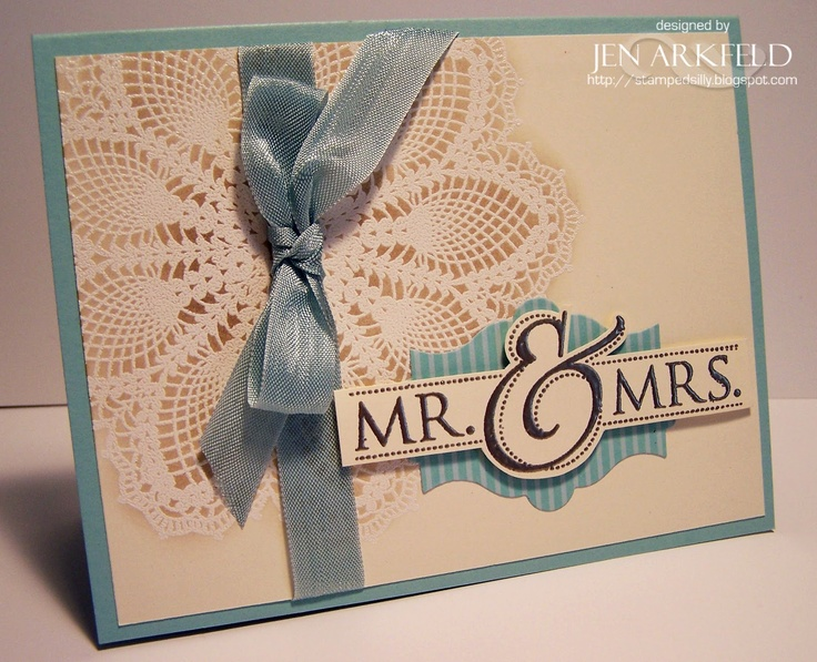 stampin up mr mrs stamp cards - Google Search