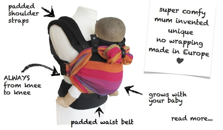 Into babywearing? Check out this review of the Emeibaby baby carrier - a hybrid carrier that combines a woven wrap and a buckle carrier (SSC).