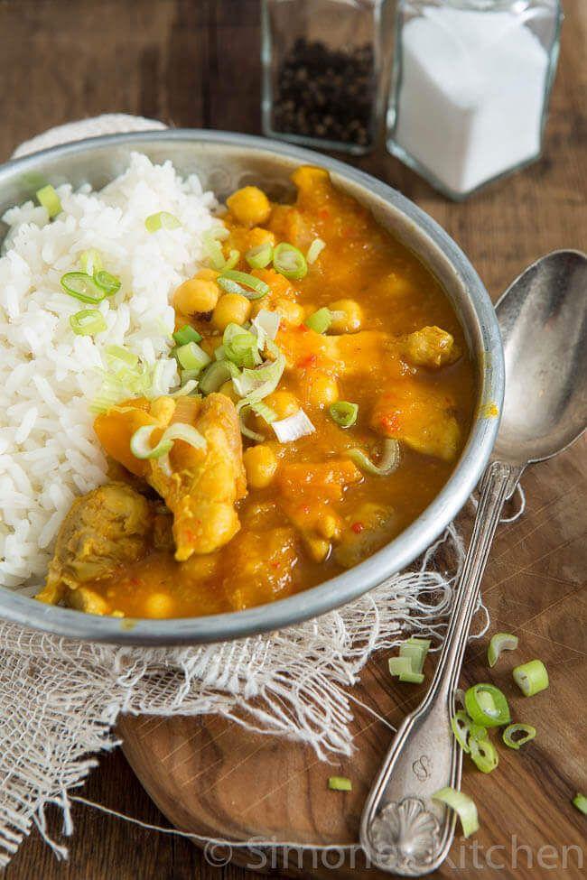 Pukka gele curry door Jamie Oliver | simoneskitchen.nl