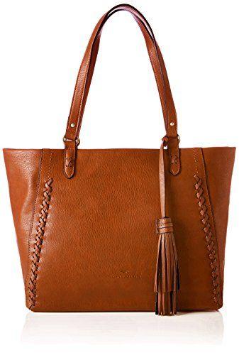 Die Miri Cleo Shopper Tasche von Tom Tailor überzeugt mit einem schönen  Webmuster an der Vorderseite e821252768