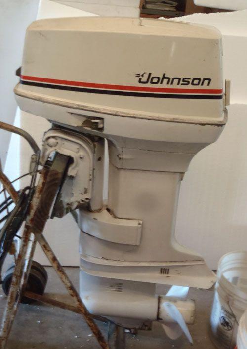 50 horsepower johnson outboard motor Google Search