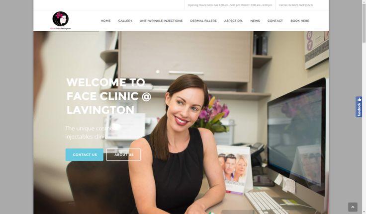 Wagga Web Design   Botox Albury clinic - Wagga Web Design