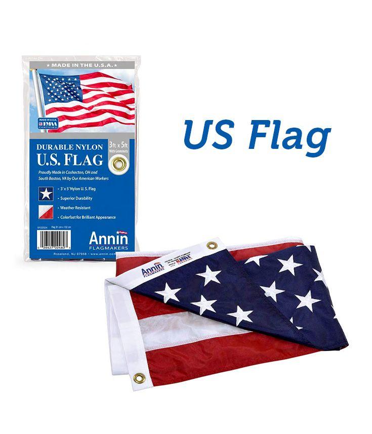 Usa Annin Flagmakers Model 2460 American Flag 3x5 Ft 100 Made In Usa American Flag Historical Flags Flag