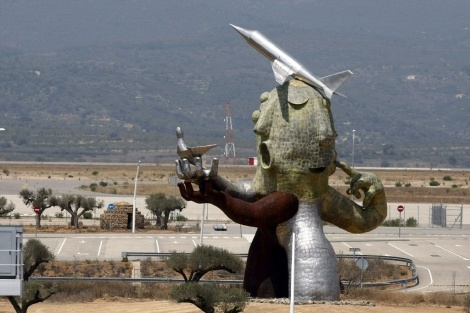 El Aeropuerto de Castellón ya tiene su primer avión