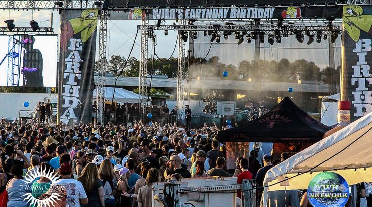 On April 22, 2017 the Central Florida Fairgrounds is the spot to be in for WJRR's EARTHDAY BIRTHDAY 24 and this year Sublime w/Rome, Alter Bridge, Sevendust, Candlebox, Thrice, Nonpoint, Sick Puppies, Dinosaur Pile-Up, Goodbye June and Tons of other acts will Rock Out Orlando Florida!