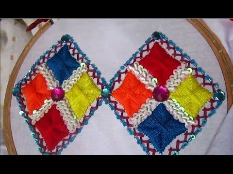 Hand Embroidery Designs | Embroidery Designs for Dresses | Stitch and Fl...