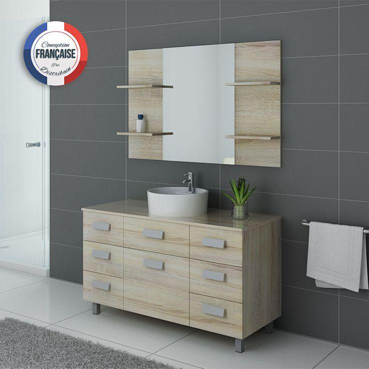 16 best teck images on Pinterest Bathroom, Bathroom furniture and - meuble salle de bain en chene massif