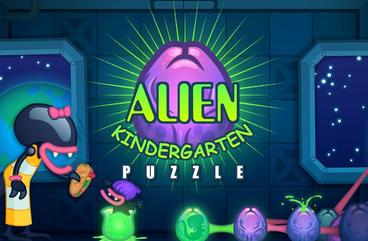 Help to hatch the eggs and you'll be parent to a whole colony of cute aliens! Play Alien Kindergarten by RavalMatic Studio!