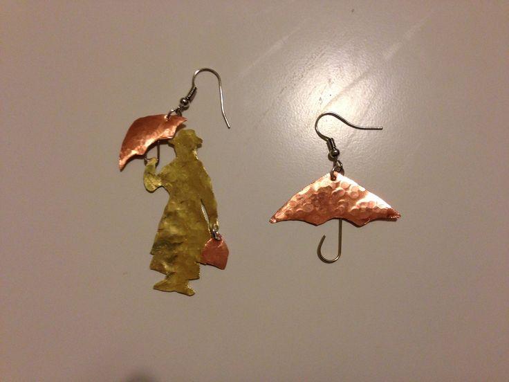 Mary Poppins earrings