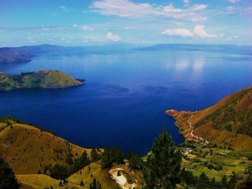 Toba Lake, Noord Sumatra