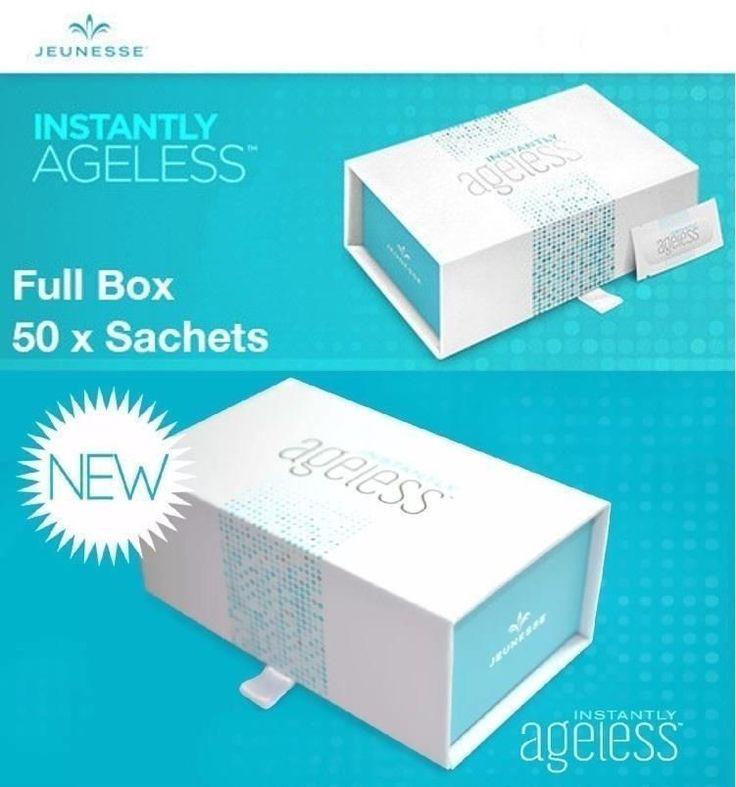 Jeunesse U.S. Instantly Ageless 4 boxes/sachets New Sealed Free Luminesce Serum…