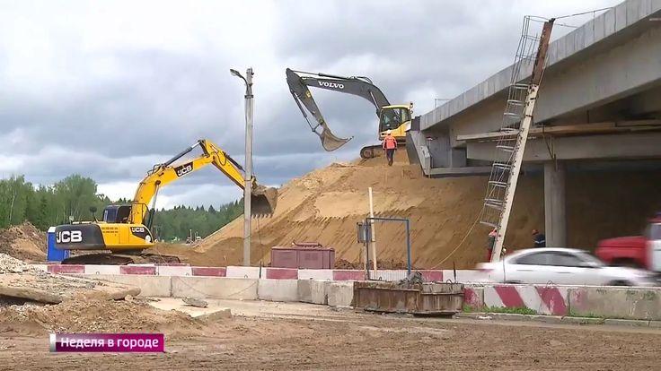 Уникальное строительство дорог ЦКАД избавит москвичей от пробок.Новое ви...