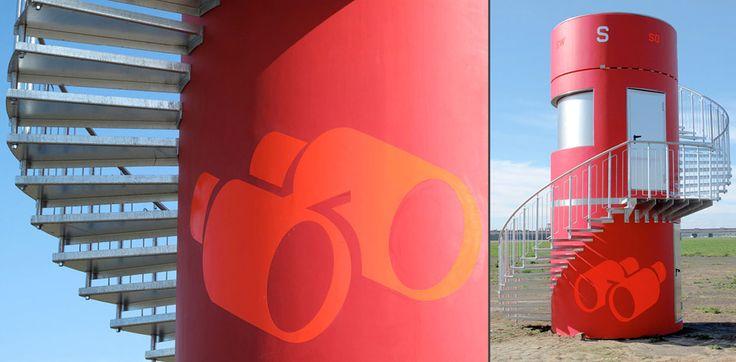 Tempelhofer Feld Icons / Binoculars