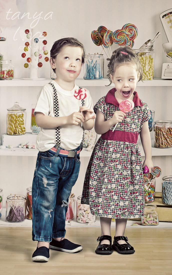 """""""Like Kids In A Candy Store"""" - Copyright Tanya Love. www.tanyalove.com.au 2013. All rights reserved."""