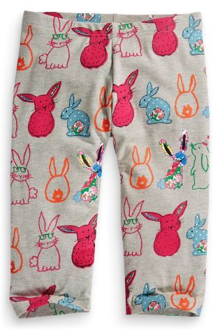 Buy Rabbit Print Cropped Leggings (3-16yrs) online today at Next: United States of America