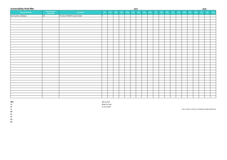 Project Workplan - How to make a professional Project Workplan in Excel? Download this Project Workplan template now!