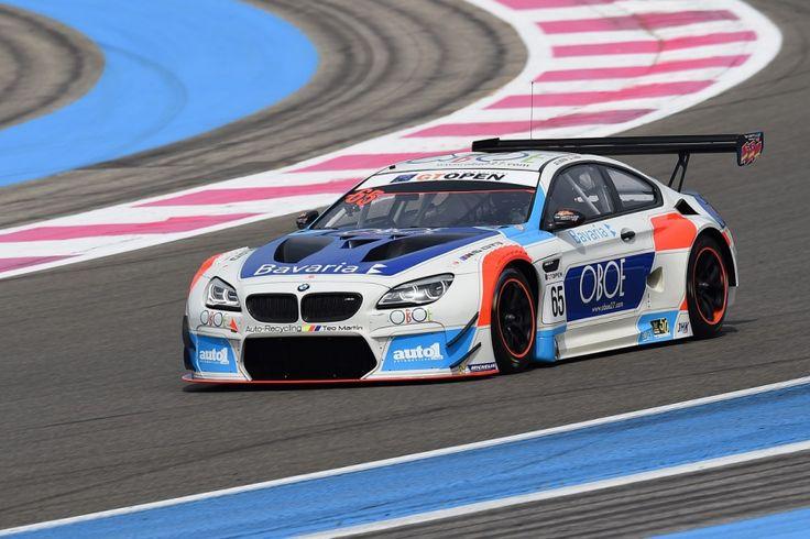 GT Open 2017 la BMW M6 GT3 à la fête sur le circuit du
