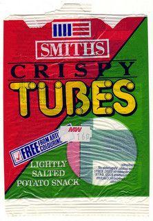 Smiths Crispy Tubes 1989