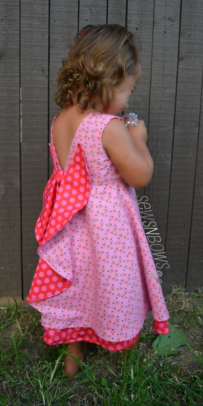 The Secret Garden Dress Pattern | SewsNBows
