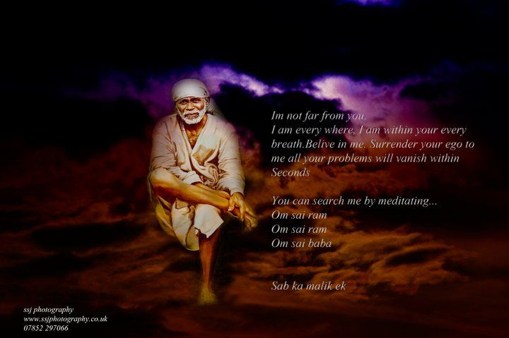 Shirdi Sai Baba. He's my everything.