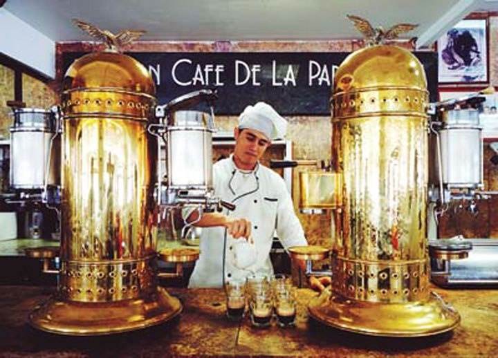 Gran Café de la Parroquia, Veracruz, México (Spring 1993