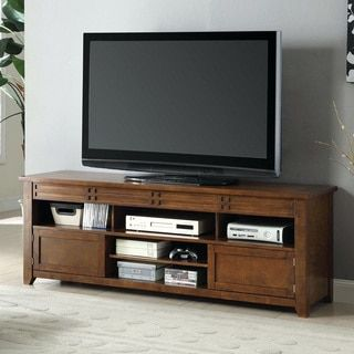 Shop for Furniture of America Gretelle Rustic Tobacco Oak 66-inch TV Console. Get free shipping at Overstock.com - Your Online Furniture Outlet Store! Get 5% in rewards with Club O!