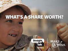 Check out this video of these amazing kids. Every time it gets shared from straighttalkwish.com, Straight Talk Wireless will donate $1 to Make-A-Wish® -- up to $100,000. #StraightTalkWish