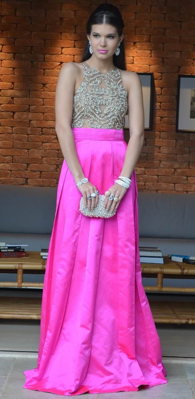 Peach dress for wedding guest   best cropped images on Pinterest  Long skirts Ball gown and