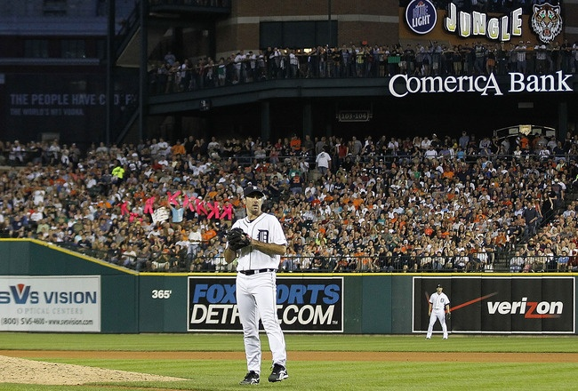 Opening Day 2012 for the Detroit Tigers today 4-5. Go Verlander!!