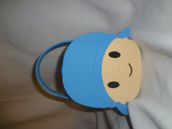 pocoyo inspired party bags favors by titaspartycreations on Etsy, $3.00