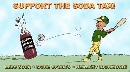 Support the Soda Tax to Fight Childhood Obesity