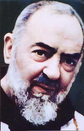 Saint Padre Pio, Pray for us...