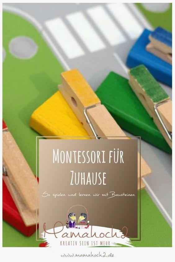 Montessori für Zuhause – unser Tipps zum Spielen und Lernen mit Bausteinen