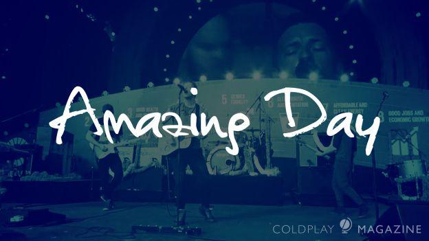 'Amazing Day', la nueva canción de Coldplay