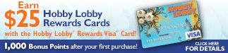 HOBBY LOBBY STORE - crafts, crafts supplies and many more