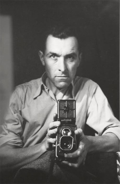 Robert Doisneau with Rolleiflex
