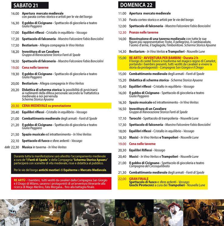 Medioevo in Castello a Buti (PI) Sabato 21 e Domenica 22 Maggio 2016