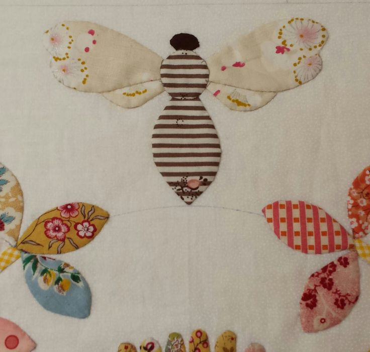 86 best Bees Bugs Applique Patterns images on Pinterest
