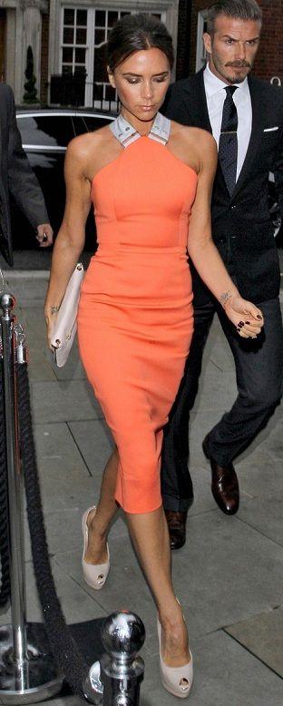 David and Victoria Beckham Dress Up For a Fancy Bash