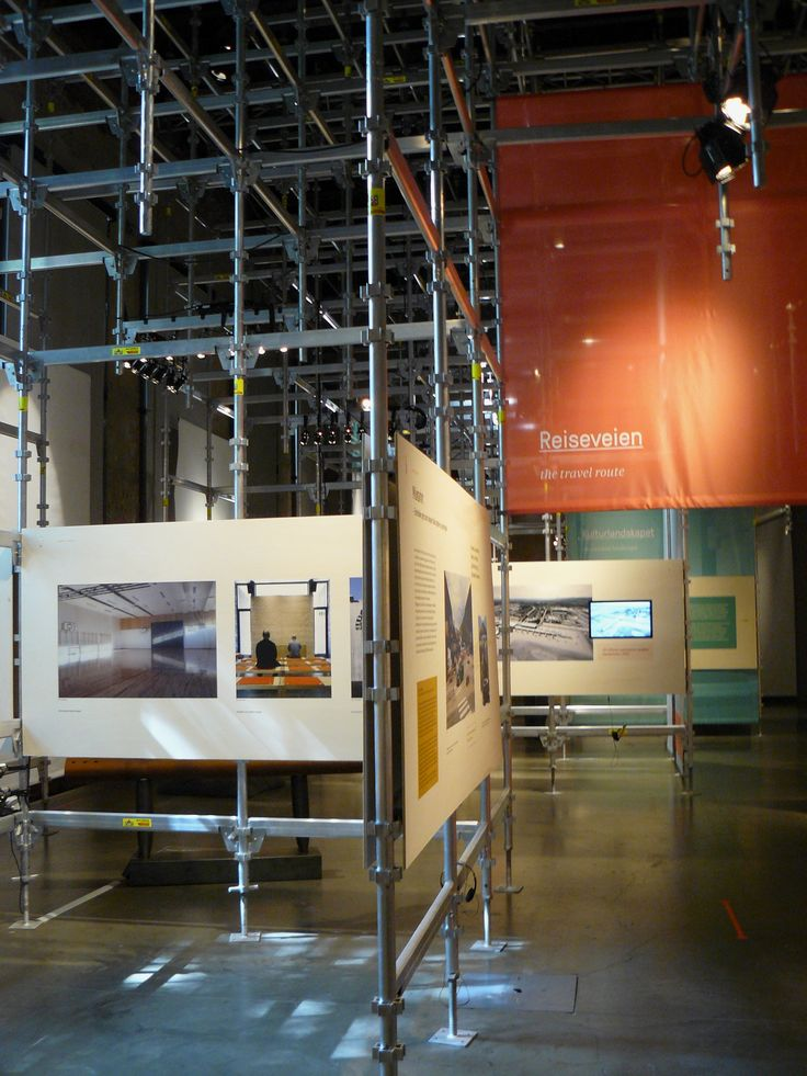26 June: Arbeid pågår! - Under construction! Výstava o tom, jak se v Norsku staví veřejné budovy. Zkuste si schválně vygooglit Halden prison...