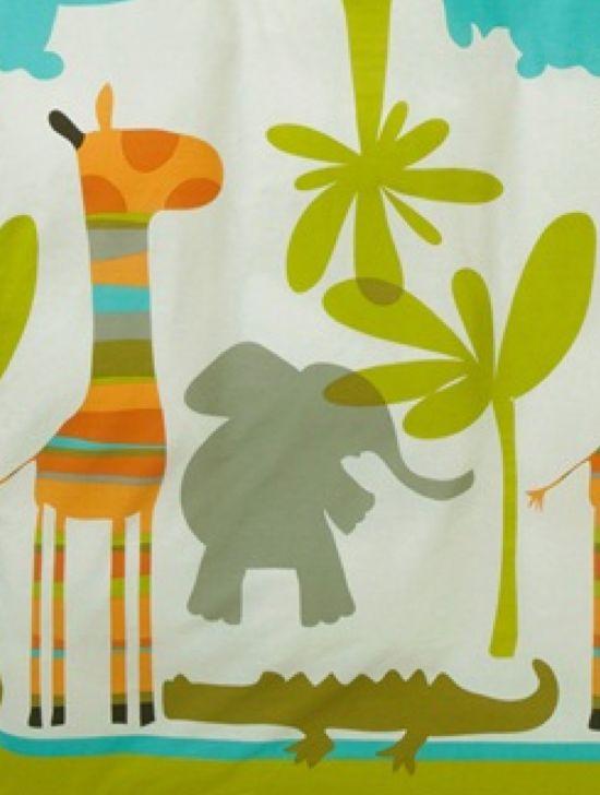 Ber ideen zu elefant kinderzimmer jungen auf pinterest elefanten au - Housse de couette girafe ...